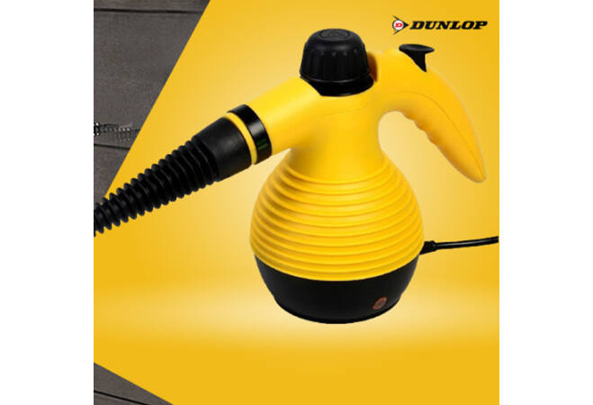Dunlop nagynyomású kézi gőztisztító 1050W teljesítménnyel