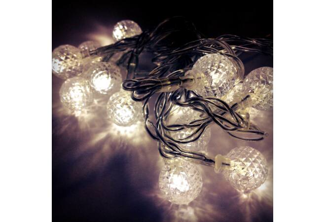 Wireless LED karácsonyfadísz (HIDEGFEHÉR)