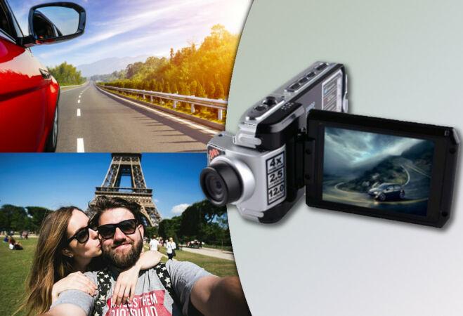 12 MP kompakt HD kamera