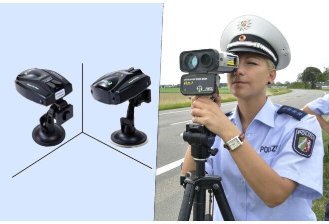 Traffipax figyelő radar detektor