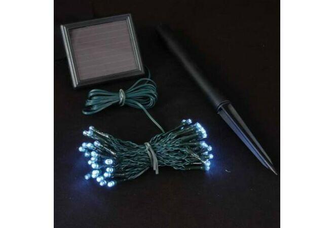 100 LEDES napelemes karácsonyi világítás