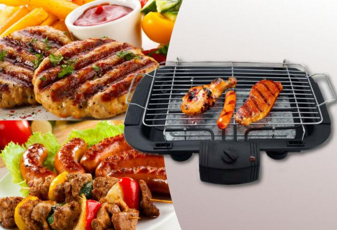 Hordozható elektromos grill