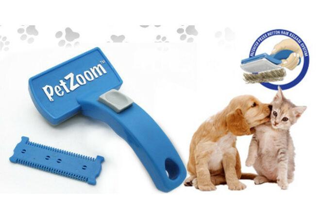 Pet Zoom szőrkefe kutyáknak és macskáknak