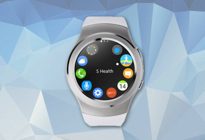 Smart Watch okosóra (Ezüst)
