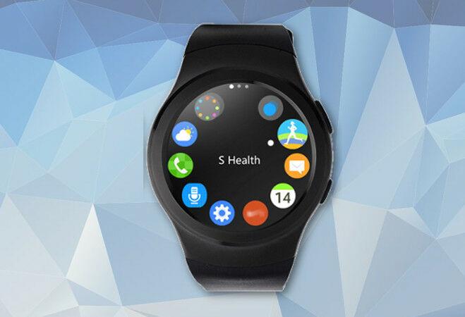 Smart Watch okosóra (Fekete)