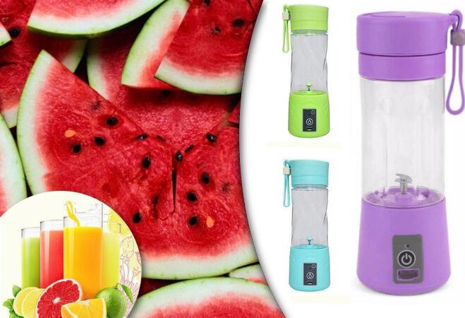 Akkus Shaker és Juice készítő (Lila)