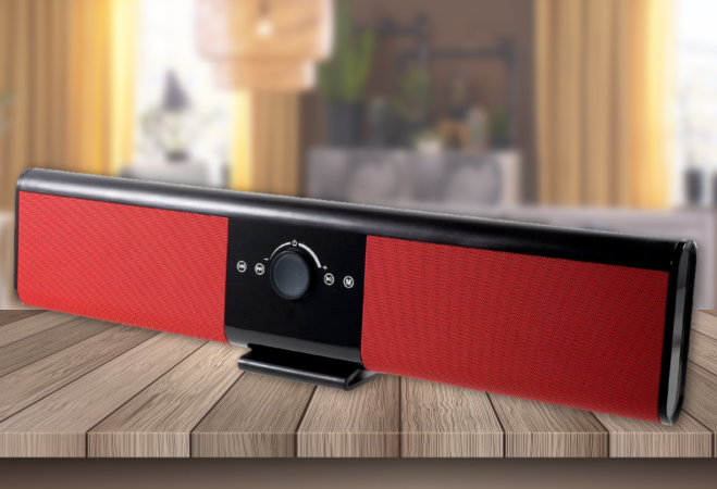 Soundbar bluetooth hangszóró (piros)