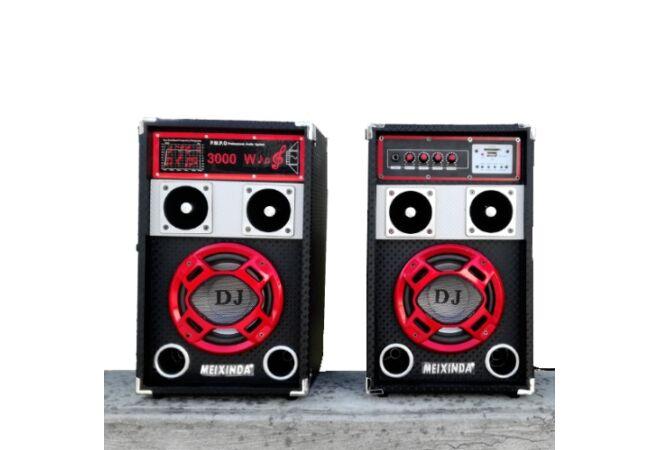 DJ akkus hangfal szett