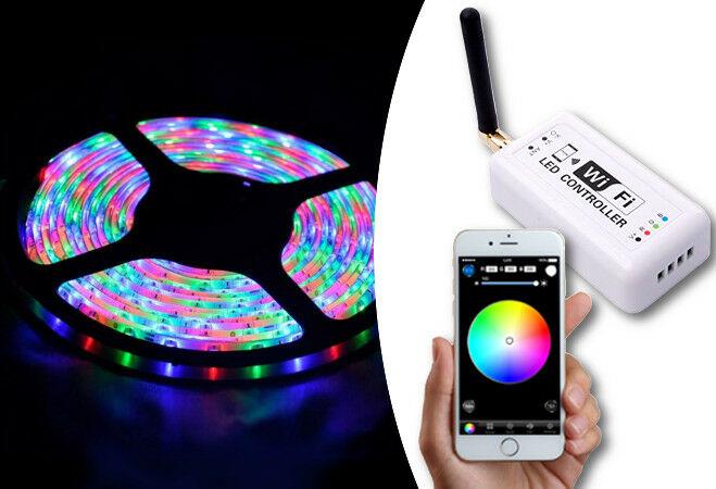 5 méteres WIFI RGB LED szalag