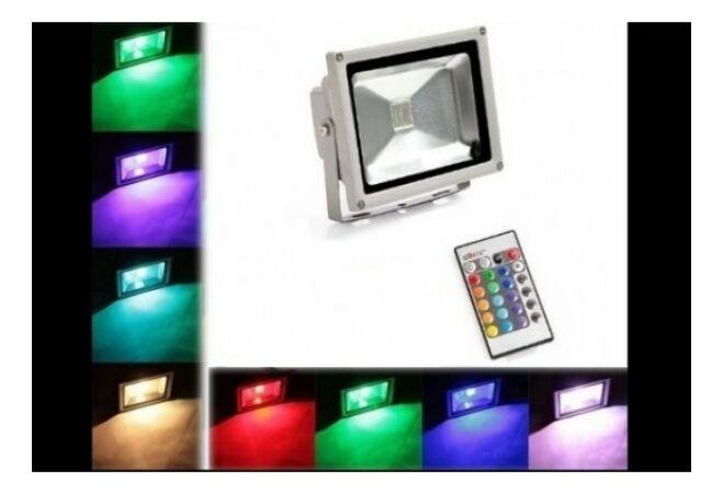 10 w-os RGB Led reflektor