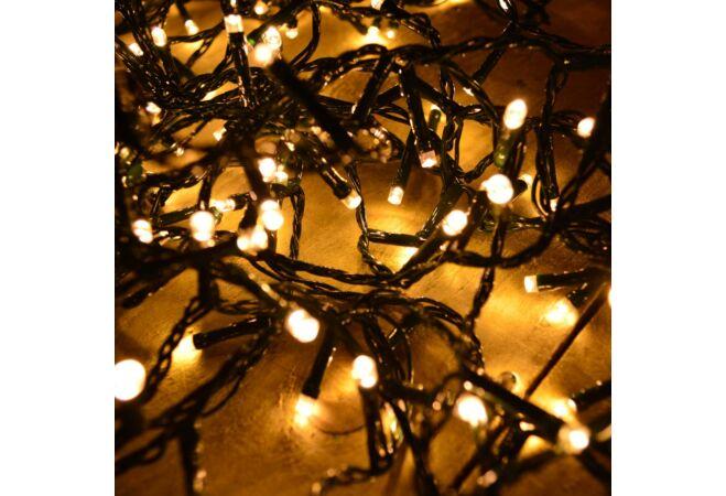 180 LED-es Dekorációs fényfüzér (Melegfehér)