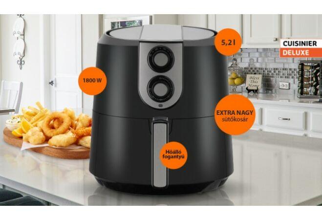 Cuisinier fritőz (5,2L 1800W)