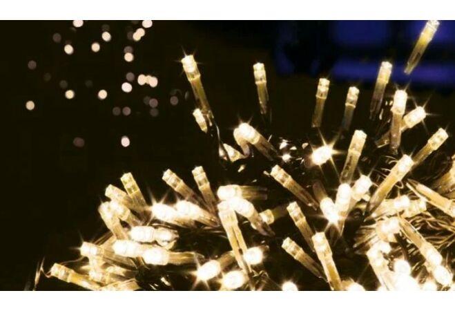 200 LED-es Karácsonyi fényfüzér (Melegfehér)