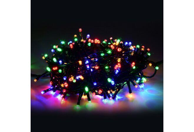 500 LED-es karácsonyi világítás (Színes)