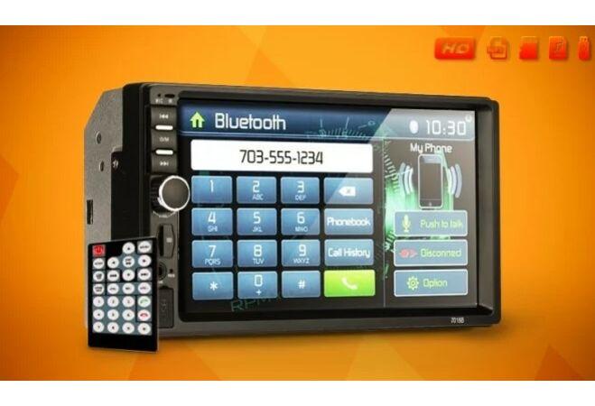 """7"""" LCD autós multimédia egység (MP3, videó lejátszás, FM rádió)"""