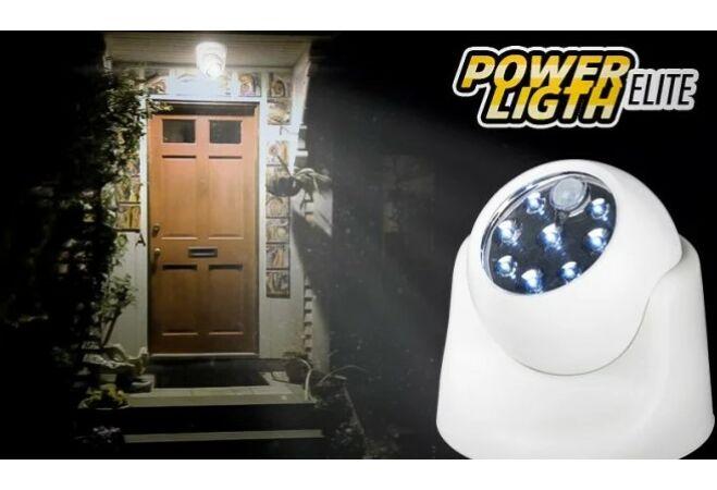 Mozgásérzékelős LED fényforrás (8 LED-del)