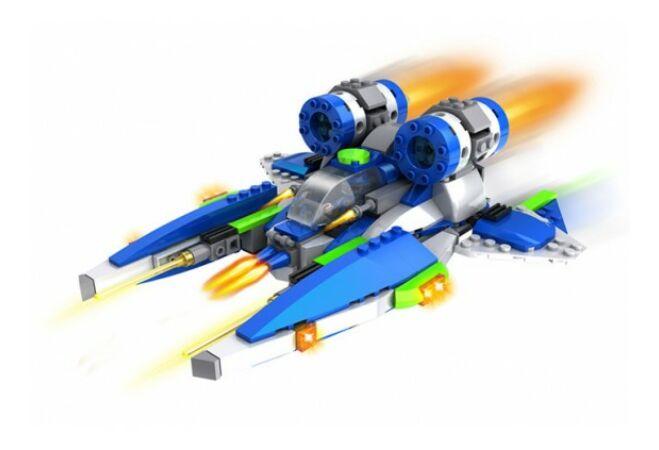 Űrrepülő építőkocka játék