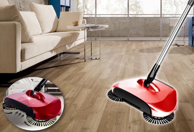 Sweeper 360 seprű (piros)