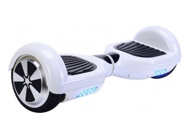X-Hover hoverboard elektromos járgány (FEHÉR)