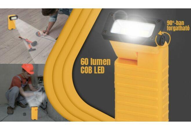 Dunlop elemes LED munkalámpa