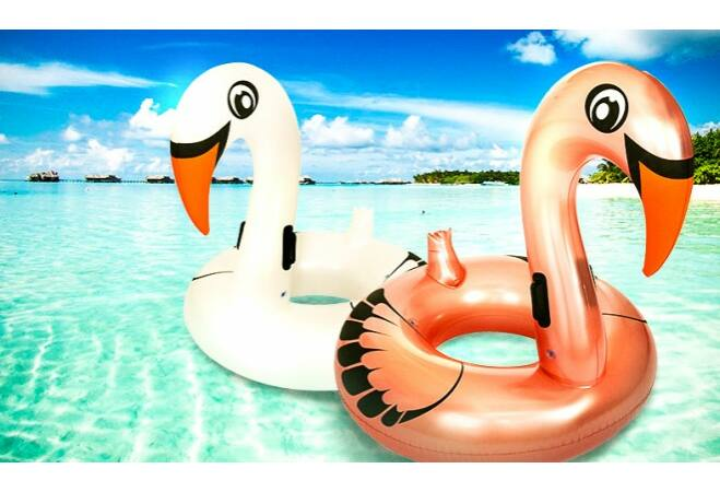 Bestway felfújható flamingó