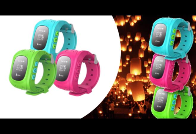GPS Gyerek nyomkövető óra (Pink)
