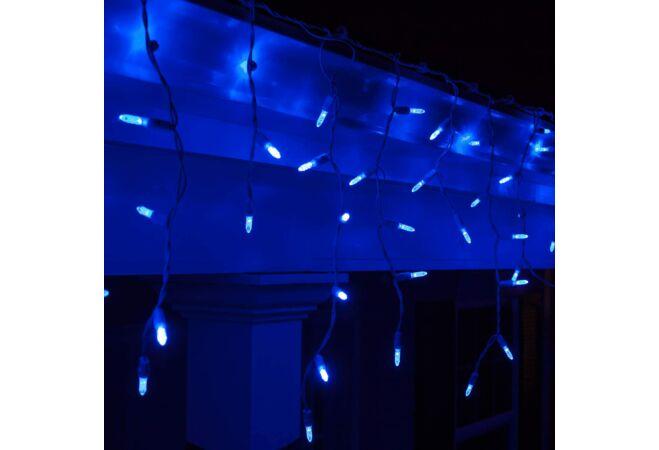 200 LED-es jégcsap fényfüzér (Kék)