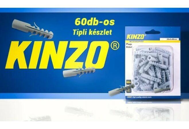 KINZO tipli szett (8x40mm, 60 db)