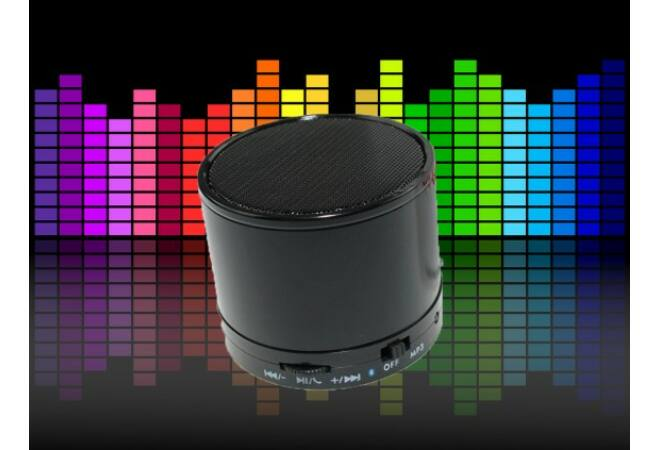 Mini bluetooth hangszóró (fekete)