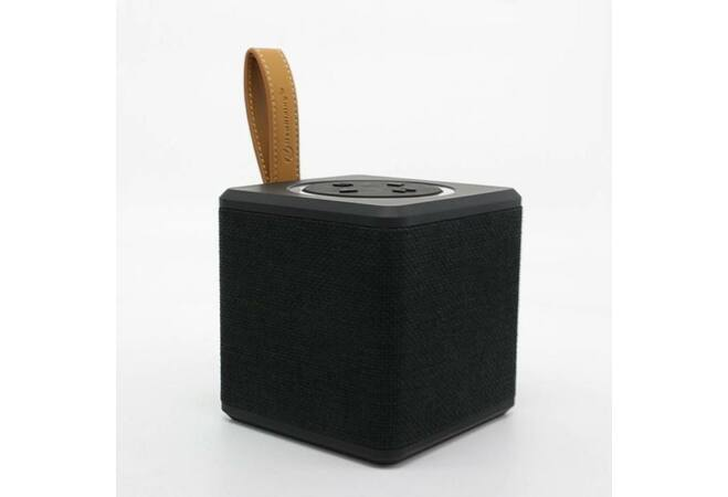 NewRixing bluetooth hangszóró szövet borítással (Fekete)