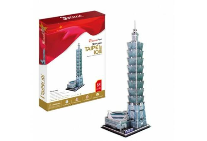 3D Taipe puzzle