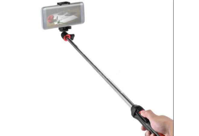 Bluetooth teleszkópos selfie bot