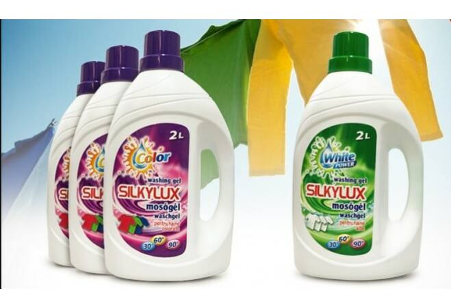 4x2L Silkylux mosógél pack 4 db színes