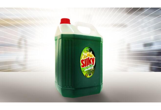 Silky mosogatószer (5 liter, Citrom illat)