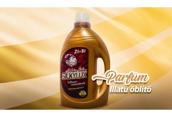 Silkylux Exclusive Parfume öblítő (2 x 2 liter)