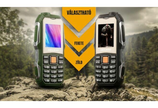 HOD00 PRO strapatelefon (zöld)