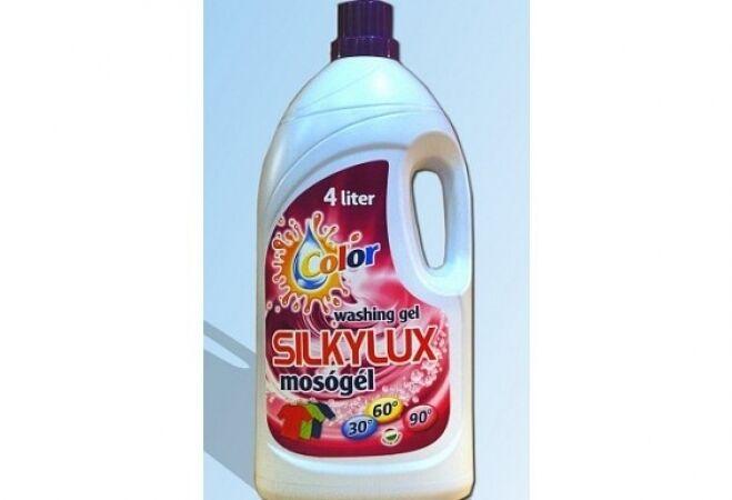 4 darab 4 literes Silkylux mosógél színes ruhákhoz ajándék folyékony szappannal és öblítővel