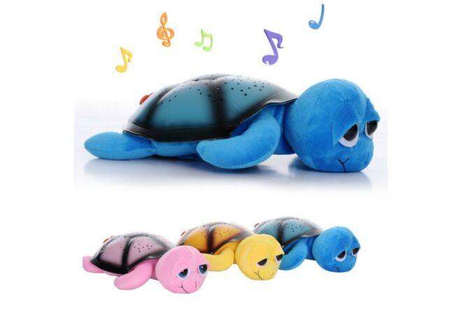 Bociszemű világító teknős rózsaszín színben