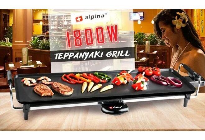 Alpina Teppanyaki grill (1800W)