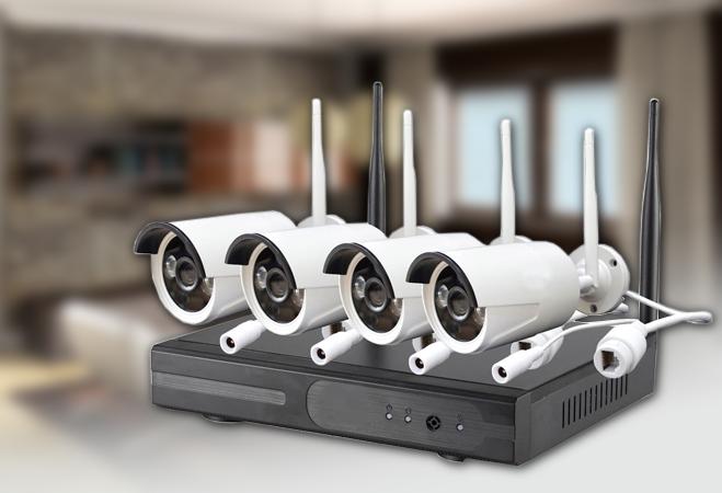 Komplett biztonsági kamera rendszer WIFI